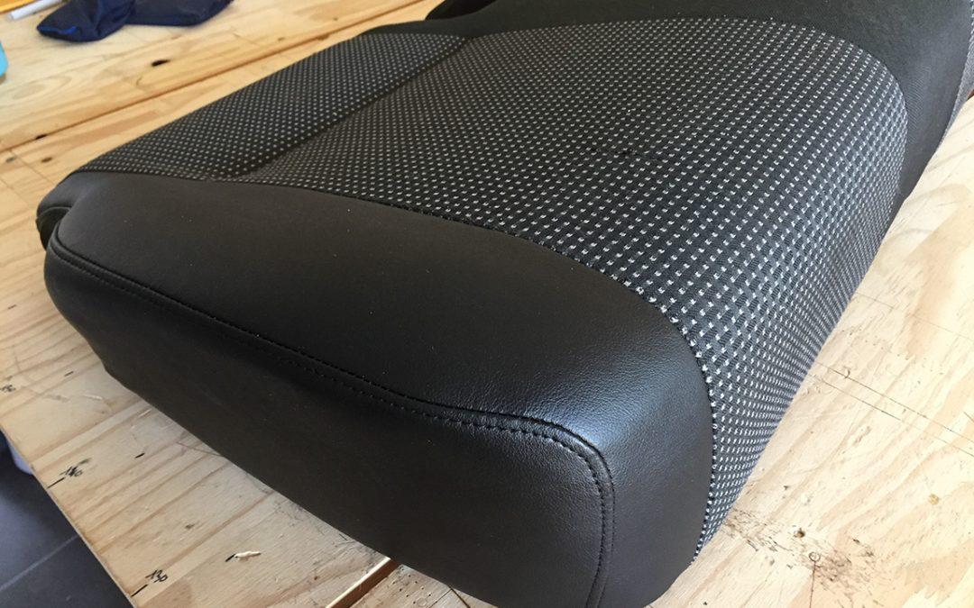 Réparation de sièges d'un véhicule utilitaire