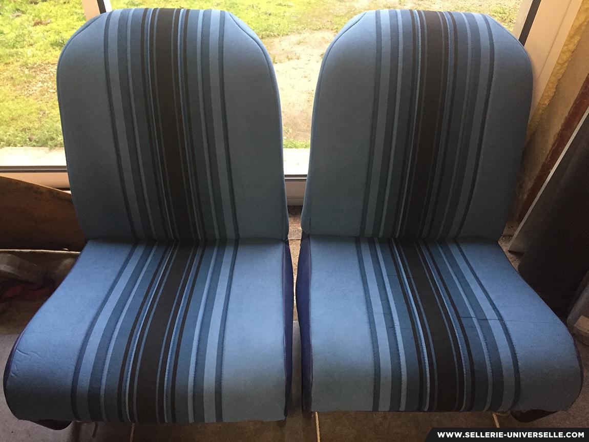 restauration sièges de 2cv